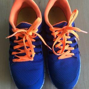 Nike Free 5.0 Blue / Orange